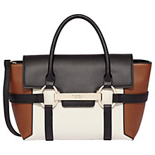 Buy Fiorelli Barbican Small Flapover Colour Block Tote Bag Online at johnlewis.com