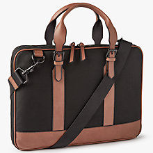 Buy John Lewis Elevate Briefcase, Black Online at johnlewis.com