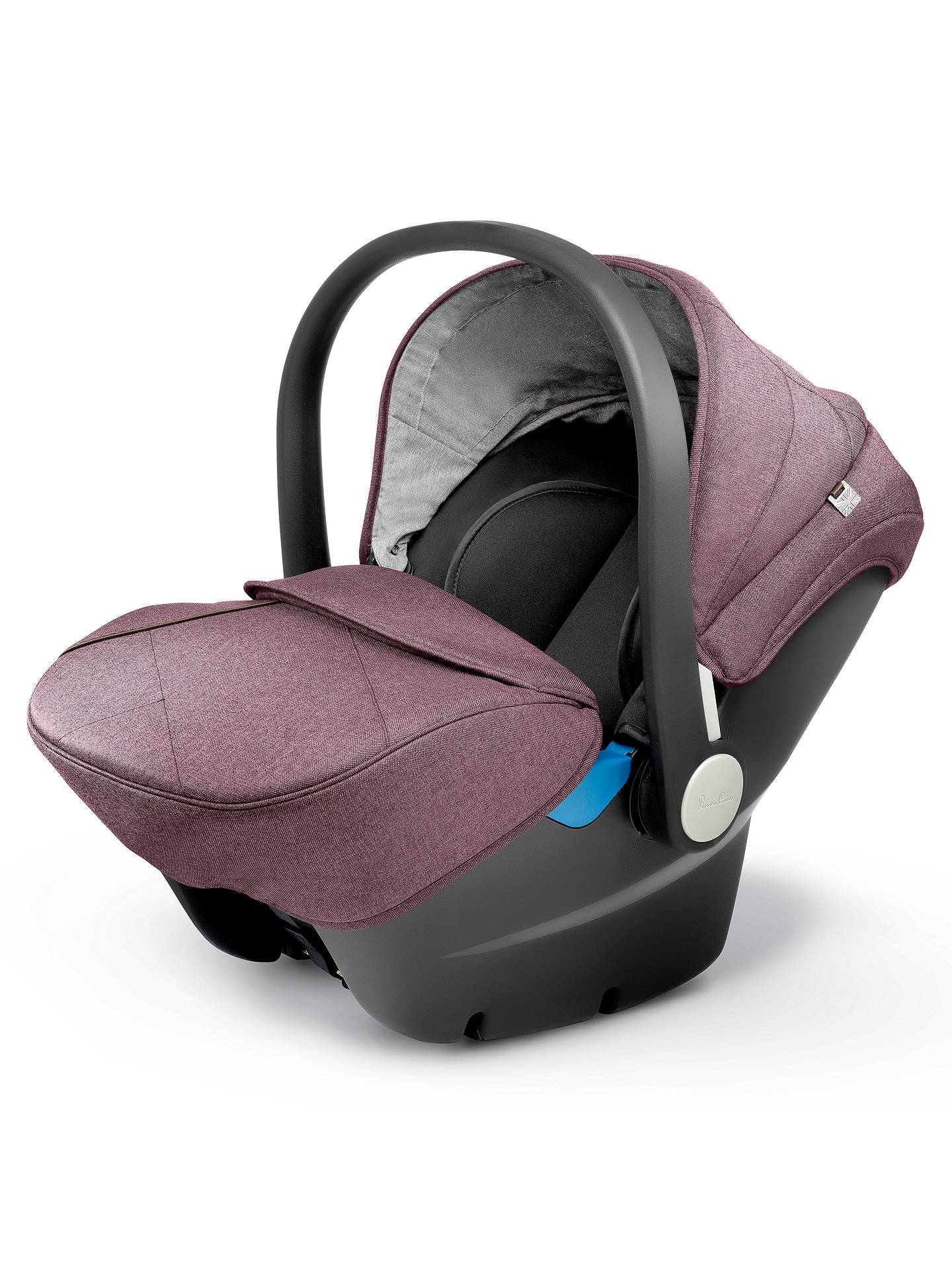 BuySilver Cross Simplicity Group 0+ Baby Car Seat, Claret Online at johnlewis.com