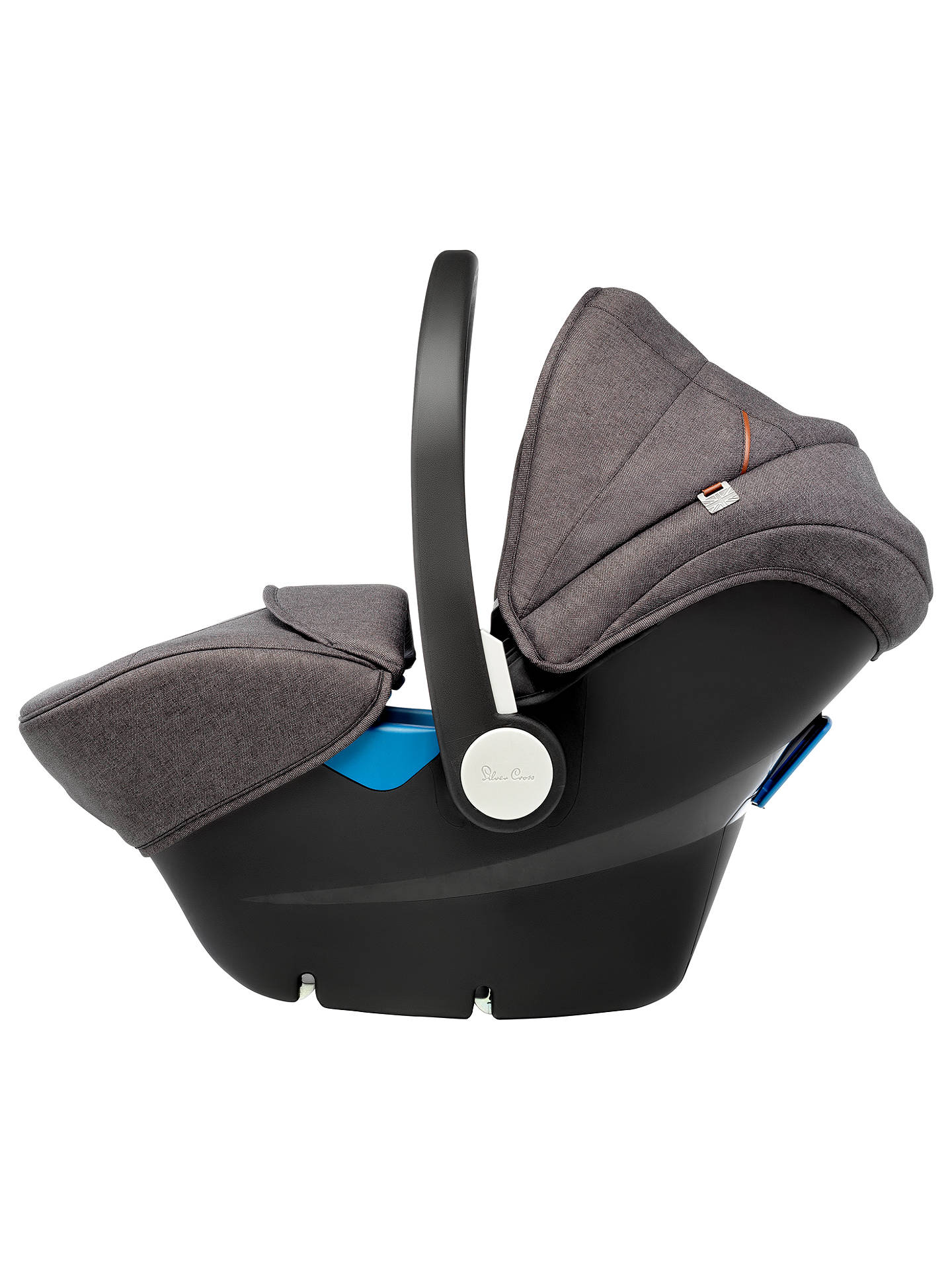 Buy Silver Cross Simplicity Group 0+ Baby Car Seat, Granite Online at johnlewis.com