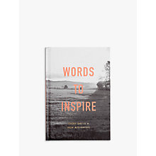 Buy kikki.K Words To Inspire Book, Inspiration Online at johnlewis.com
