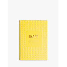 Buy kikki.K Happiness Journal, Inspiration Online at johnlewis.com