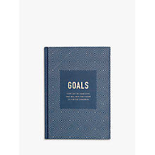 Buy kikki.K Goals Journal Inspiration, Navy Online at johnlewis.com
