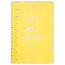 Buy kikki.K Today Was A Good Day Notebook, Inspiration Online at johnlewis.com