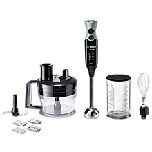 Buy Bosch MSM67190GB Hand Blender, Black/Grey Online at johnlewis.com