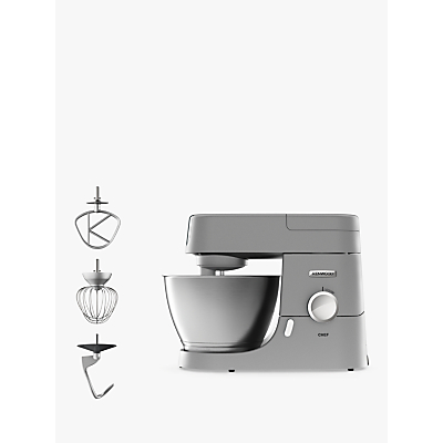 Kenwood KVC3100S Chef Premier Stand Mixer, Silver
