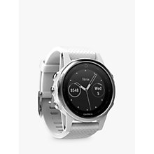 Buy Garmin fēnix 5S GPS Multisport Watch Online at johnlewis.com