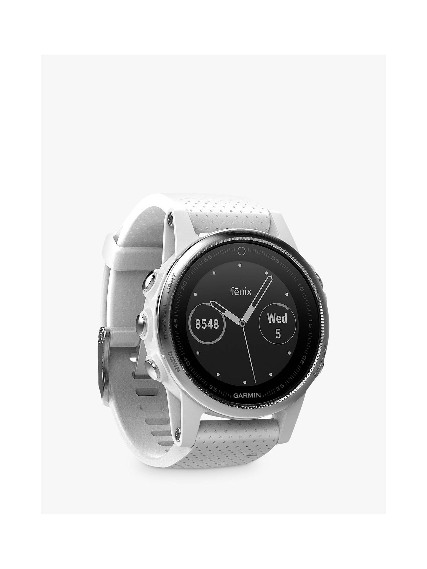 Garmin fēnix 5S GPS Multisport Watch, White