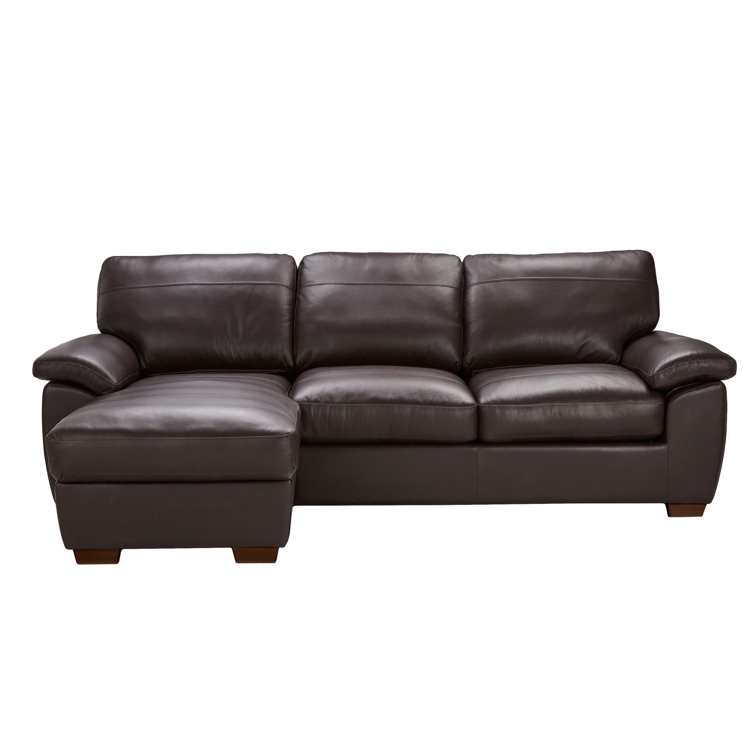 Excellent John Lewis Camden Leather Medium 2 Seater Sofa Bed With Uwap Interior Chair Design Uwaporg