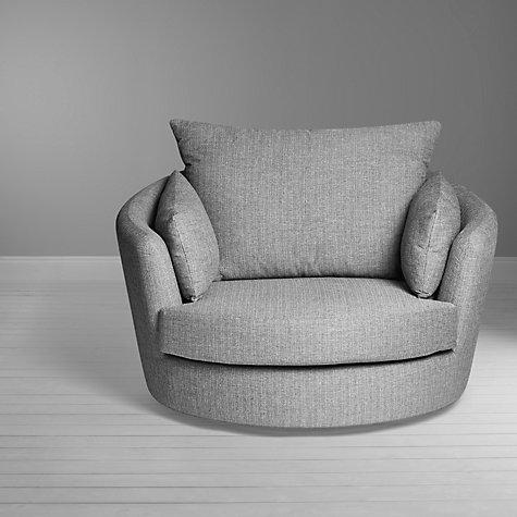 Buy John Lewis Antonio Swivel Chair Riley Storm John Lewis