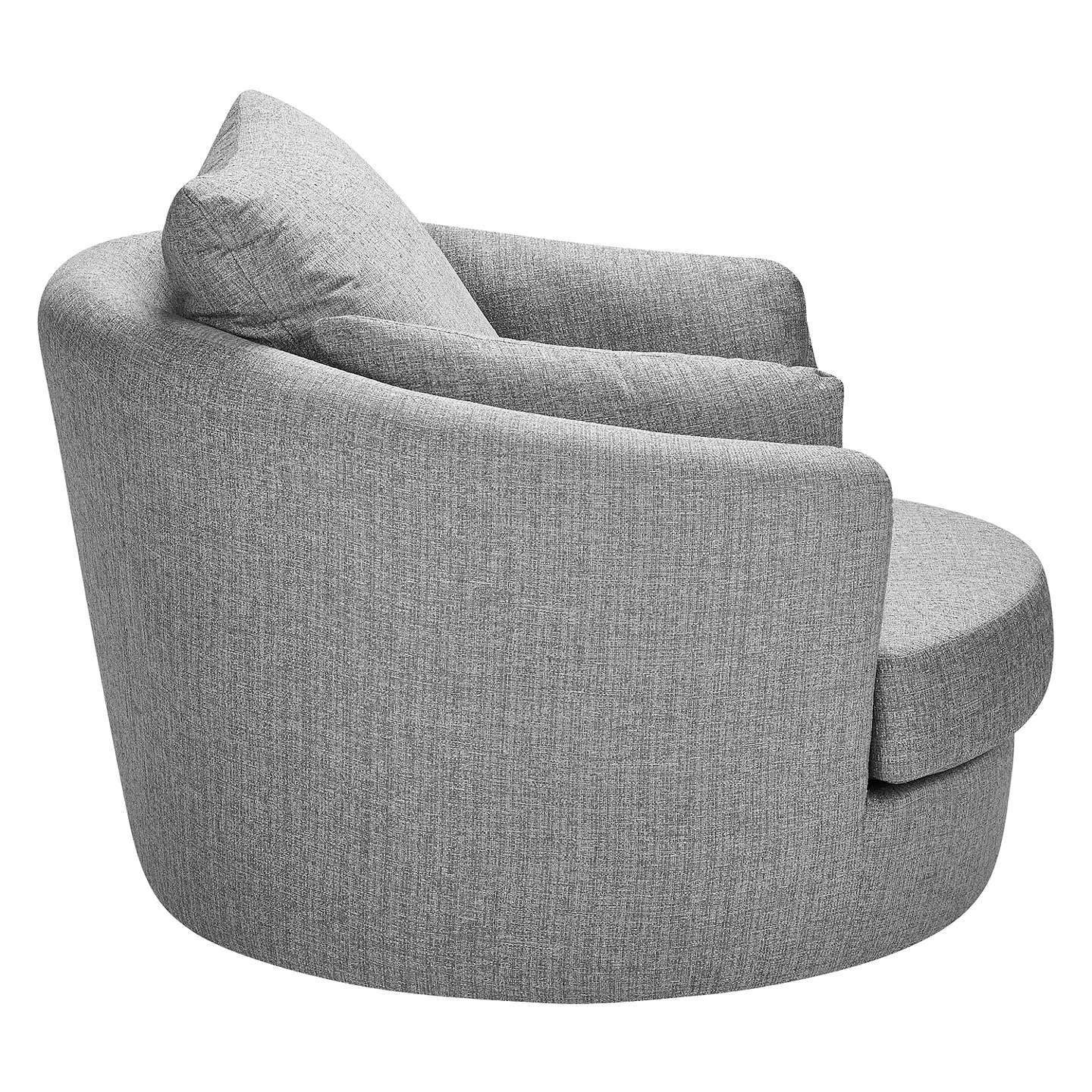 BuyJohn Lewis Antonio Swivel Chair, Riley Storm Online at johnlewis.com