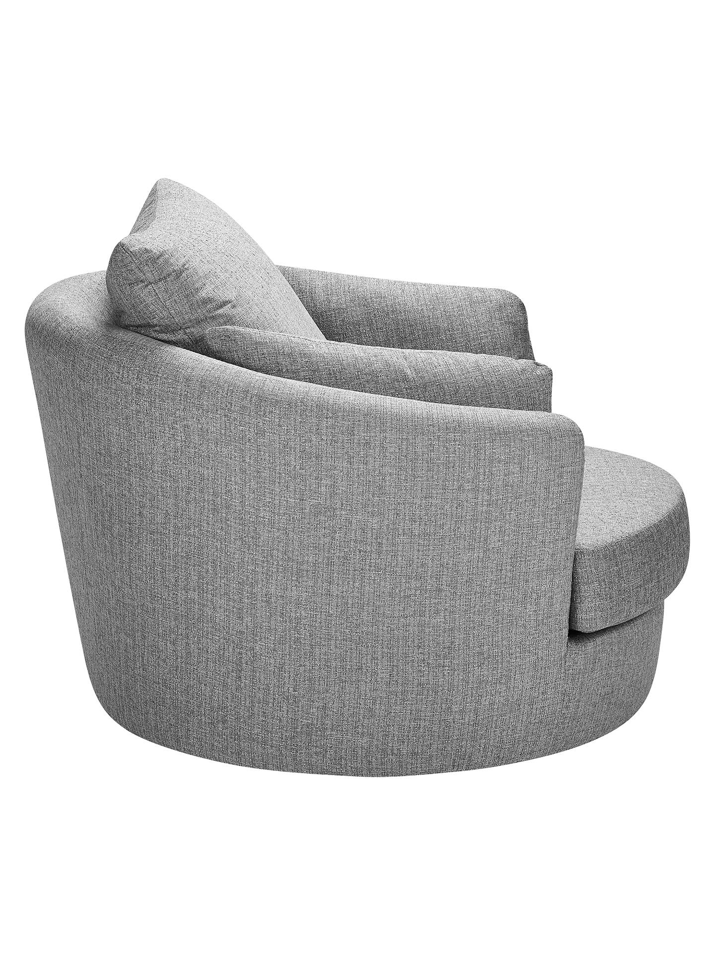 BuyJohn Lewis & Partners Antonio Swivel Chair, Riley Storm Online at johnlewis.com