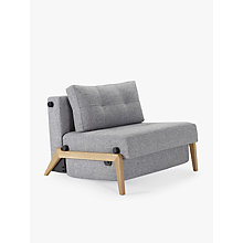 Buy Innovation Cubed 90 Chair Bed with Serpentine Sprung Foam Mattress Online at johnlewis.com