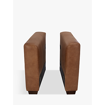 John Lewis & Partners Oliver Modular Leather Pair of Arms