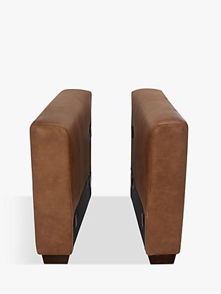 House by John Lewis Oliver Modular Leather Pair of Arms