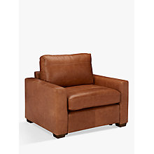 Buy John Lewis Oliver Leather Armchair Online at johnlewis.com
