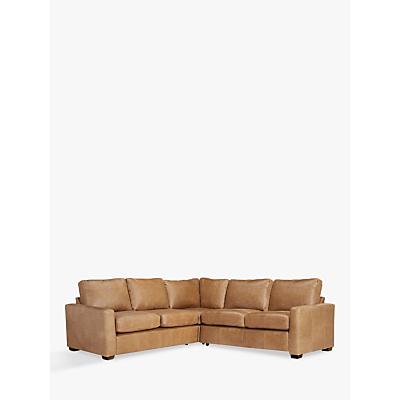 John Lewis Oliver Corner Sofa Pack, (2 x Medium Armless Sofa, 1 x Corner & Pair of Arms), Dark Leg