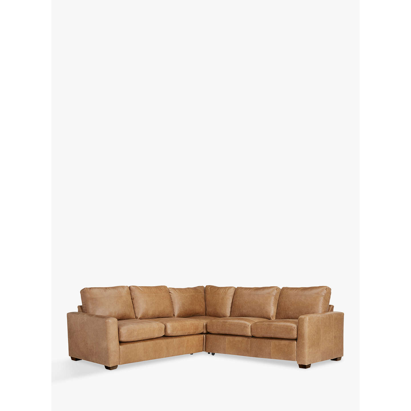 John Lewis Cooper Corner Sofa: John Lewis Leather Corner Sofa Bed