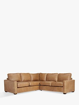 House by John Lewis Oliver Corner Sofa, Dark Leg
