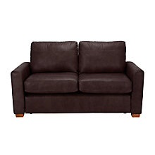 Buy John Lewis Oliver Leather Small 2 Seater Sofa Online at johnlewis.com