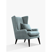 Buy Parker Knoll Sophie Armchair, Dark Leg, Molly Blue Online at johnlewis.com