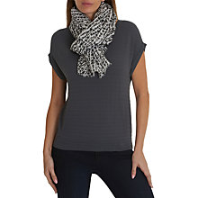 Buy Betty & Co. Graphic Print Scarf, White/Black Online at johnlewis.com
