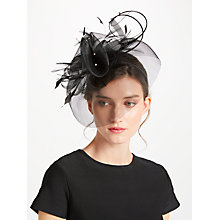 Buy John Lewis Crin Diamante Fascinator, Black Online at johnlewis.com