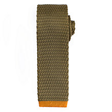 Buy Kin by John Lewis Tipped Woven Tie Online at johnlewis.com