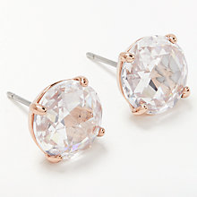 Buy kate spade new york Round Stud Earrings Online at johnlewis.com