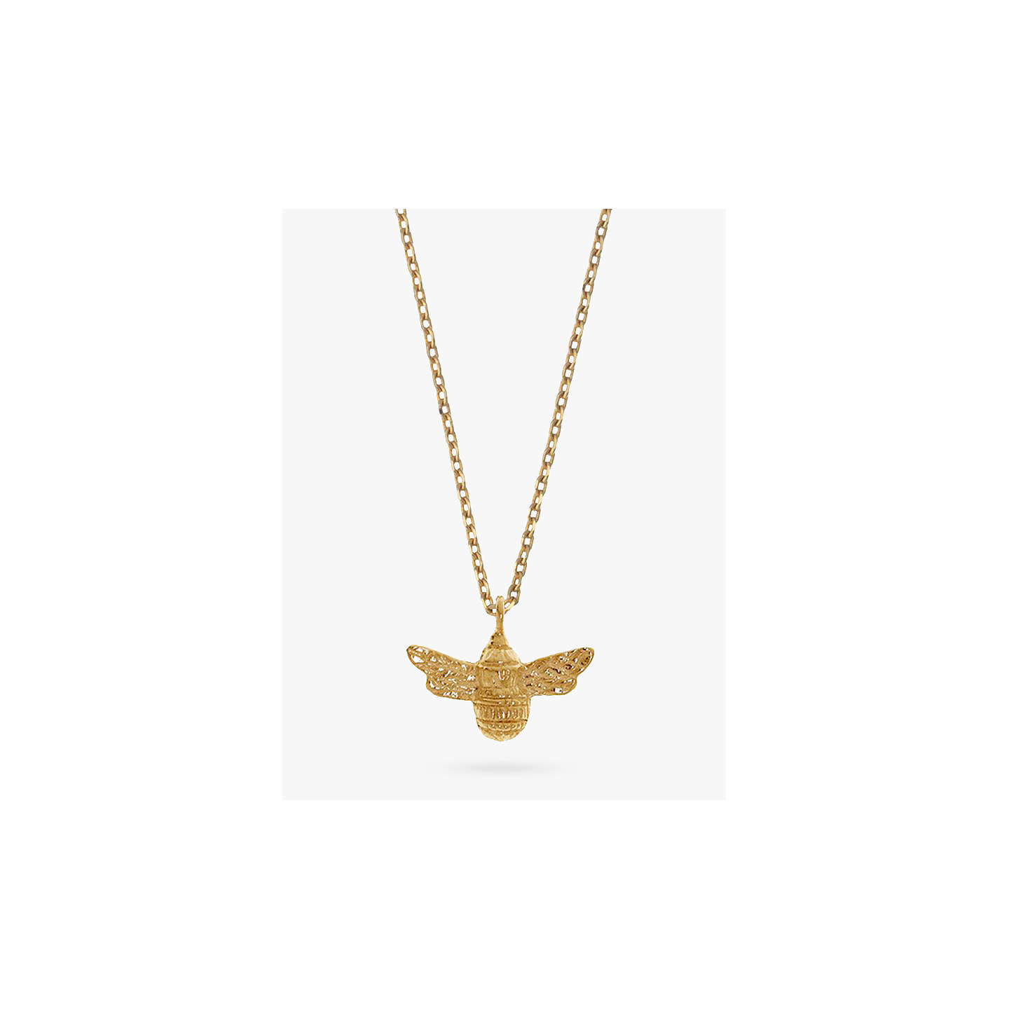 Estella bartlett bee pendant necklace gold at john lewis buyestella bartlett bee pendant necklace gold online at johnlewis aloadofball Images