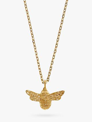 Estella Bartlett Bee Pendant Necklace, Gold