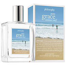 Buy Philosophy Pure Grace Summer Surf Eau de Toilette, 60ml Online at johnlewis.com