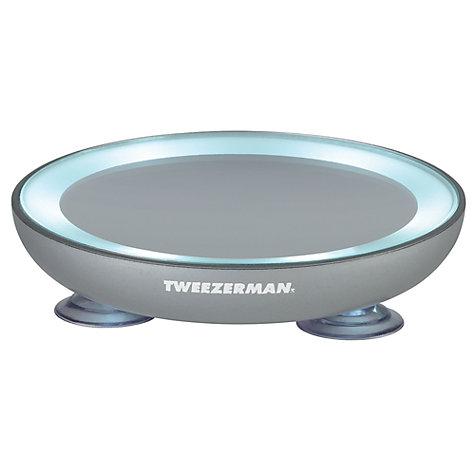 Buy Tweezerman Led 15x Magnifying Mirror John Lewis