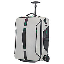 Buy Samsonite Paradiver 55cm Duffel, Grey Online at johnlewis.com