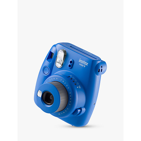 Buy Fujifilm Instax Mini 9 Instant Camera with 10 Shots of Film, Built-In Flash & Hand Strap Online at johnlewis.com