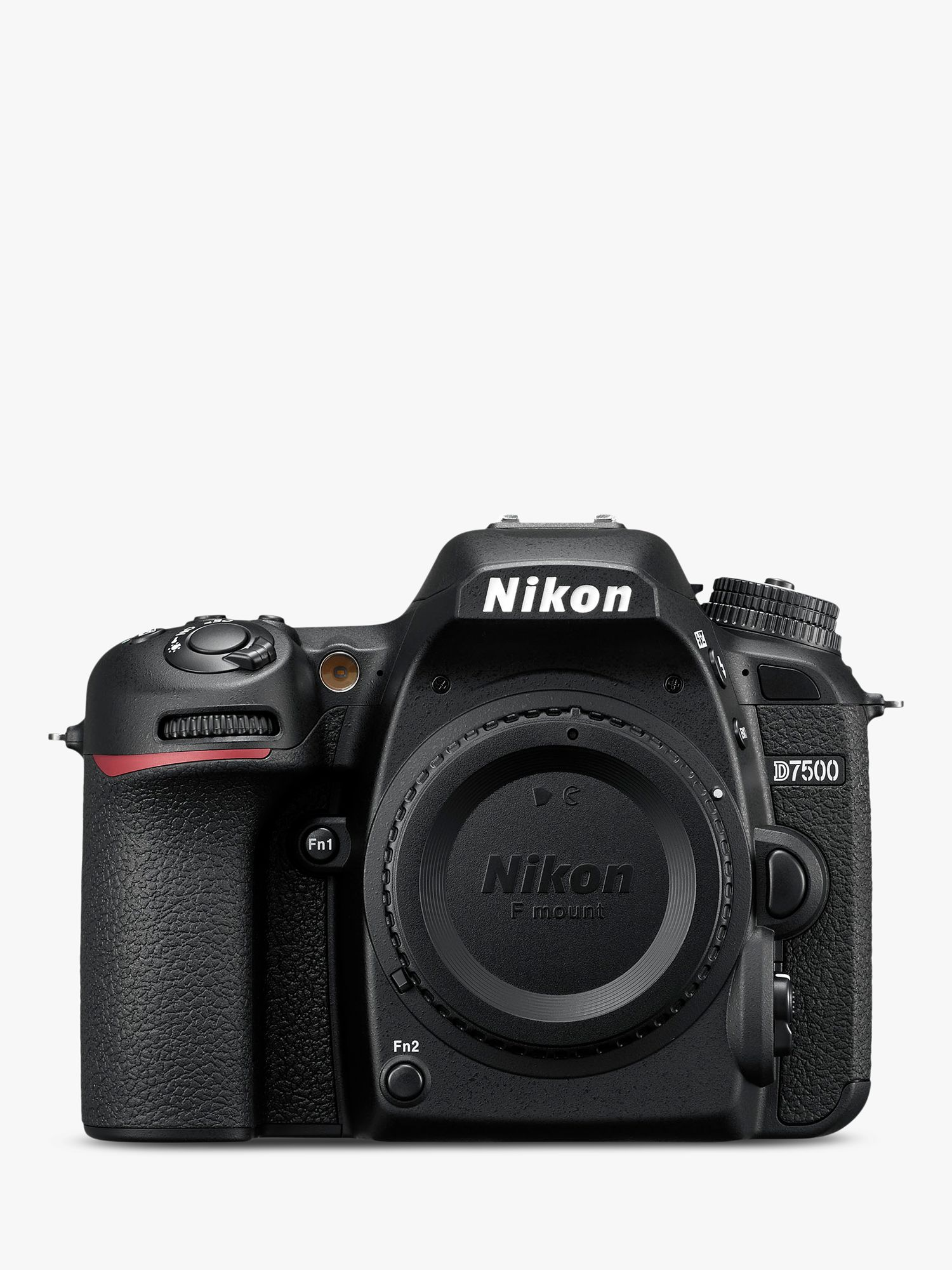 Nikon Nikon D7500 DSLR Camera, 20.9 MP, 4K UHD, Wi-Fi, Bluetooth, 3.2 Tiltable Touch Screen, Body Only, Black