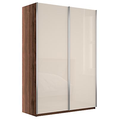 John Lewis Elstra 150cm Wardrobe with Glass Sliding Doors