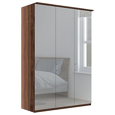 John Lewis Elstra 150cm Wardrobe with Mirrored Hinged Doors
