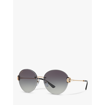 BVLGARI BV6091B Round Sunglasses
