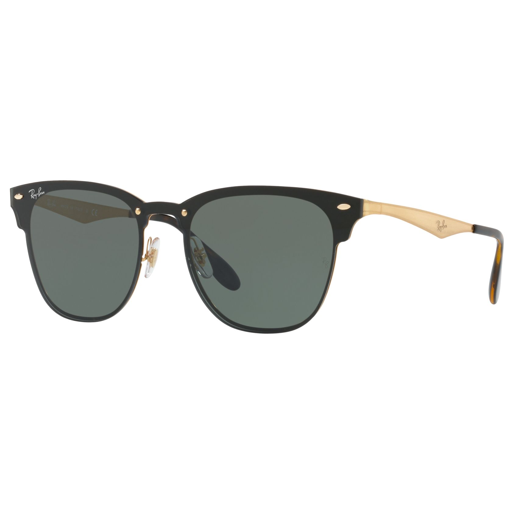 0813081b0904 Ray-Ban RB3576N Blaze Clubmaster Square Sunglasses at John Lewis   Partners
