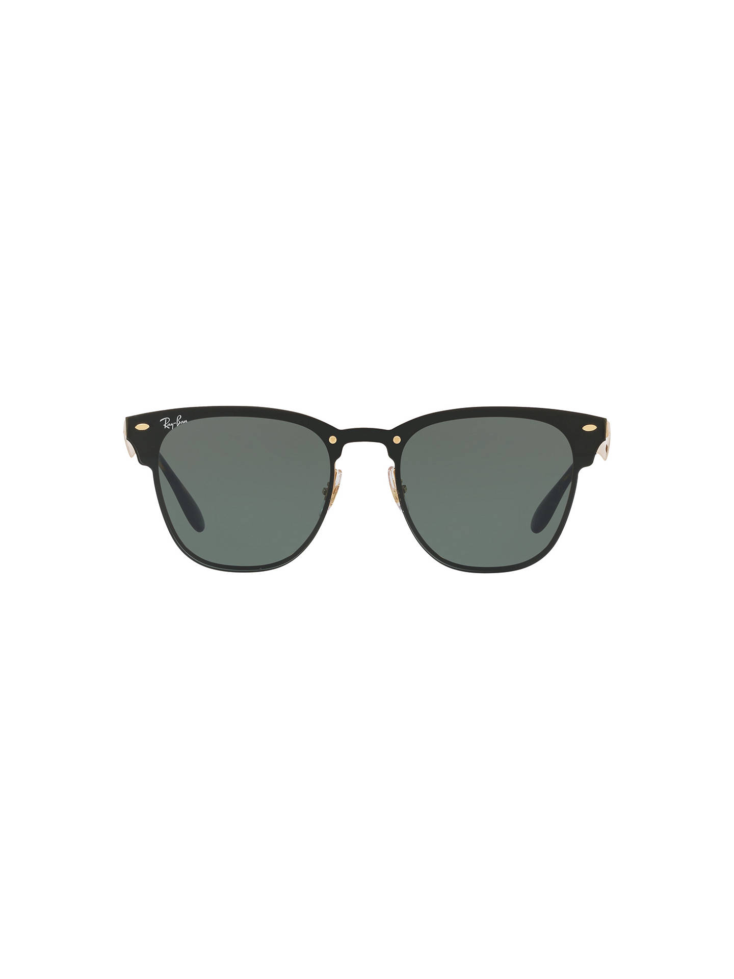 780a66bb790b1 Ray-Ban RB3576N Blaze Clubmaster Square Sunglasses at John Lewis ...