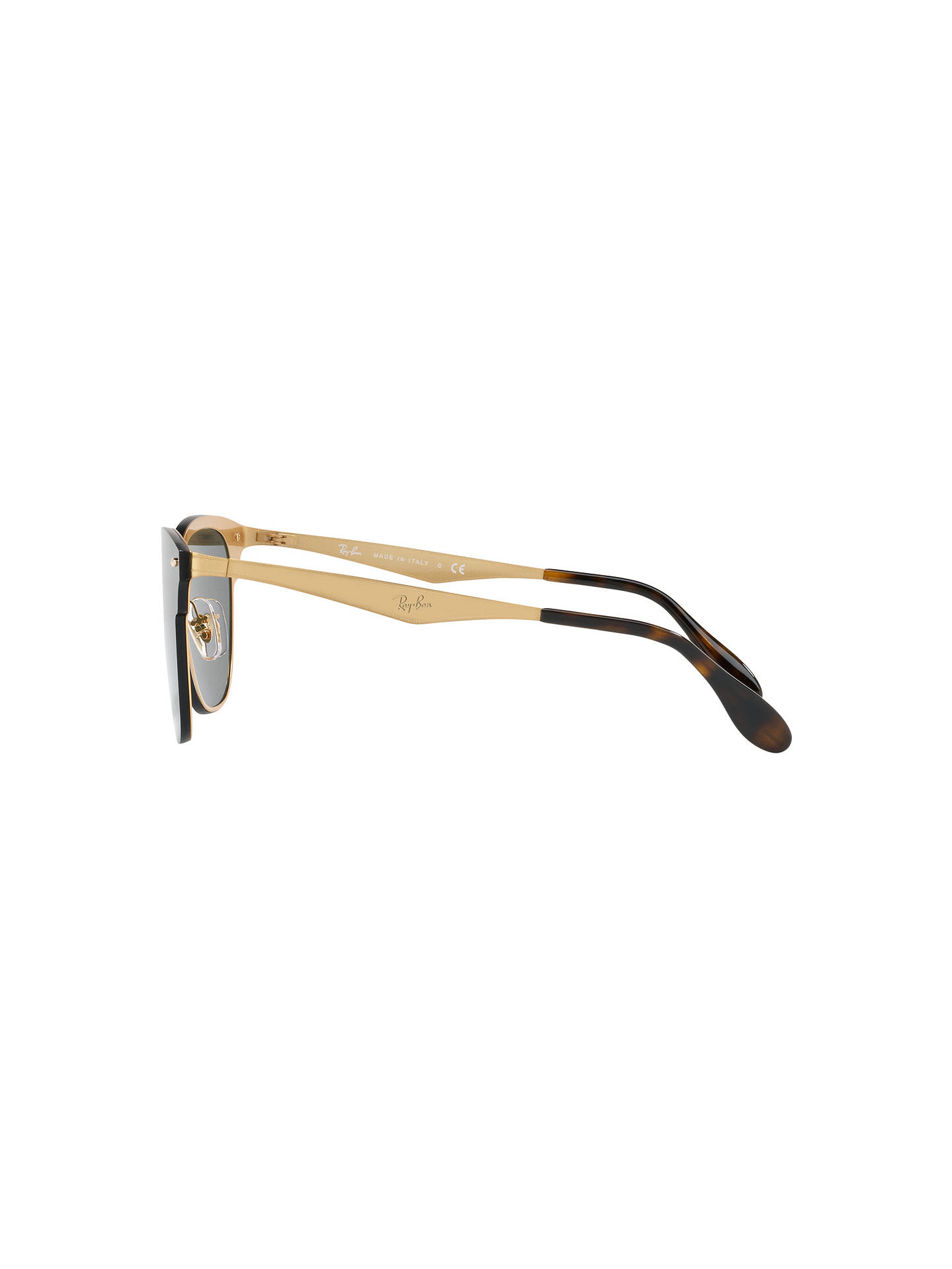 ca2e36064457 Ray-Ban RB3576N Blaze Clubmaster Square Sunglasses at John Lewis ...