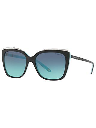 b746c60355b4 Tiffany   Co TF4135B Oversize Square Sunglasses