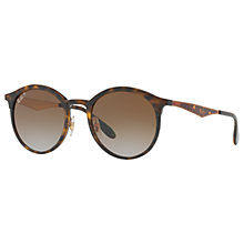 Buy Ray-Ban RB4277 Polarised Oval Sunglasses Online at johnlewis.com