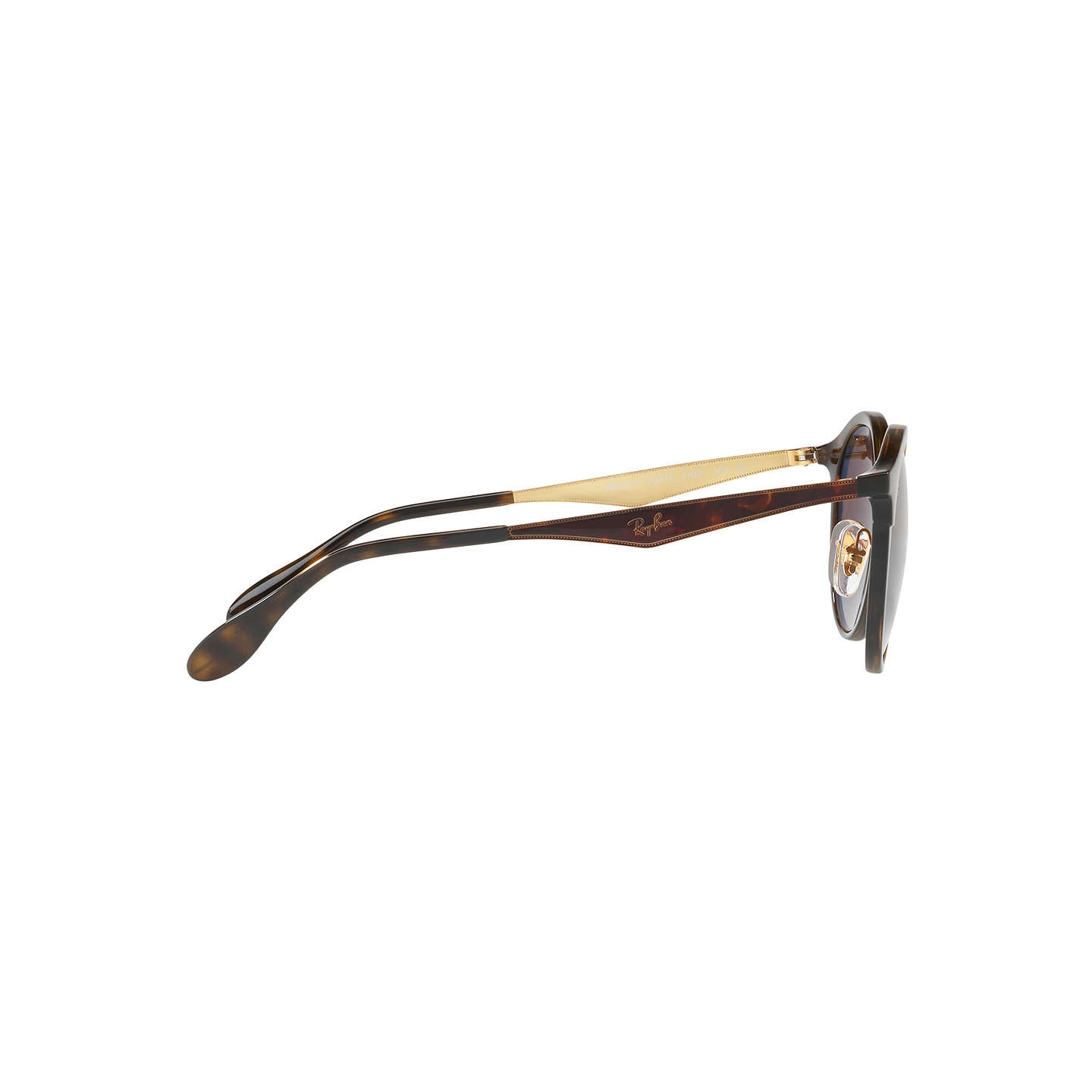 BuyRay-Ban RB4277 New Emma Polarised Oval Sunglasses, Tortoise/Brown Gradient Online at johnlewis.com