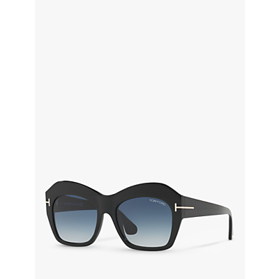 TOM FORD TF0534 Emmanuelle Pentagonal Sunglasses