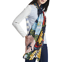 Buy Joules Wensley Posy Scarf, Multi Online at johnlewis.com