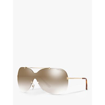 TOM FORD FT0519 Ondria Outsize Rectangular Sunglasses