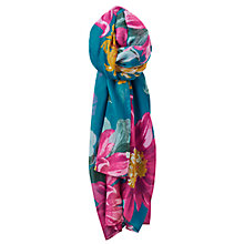 Buy Joules Harmony Scarf, Topaz/Multi Online at johnlewis.com
