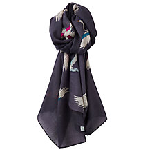 Buy Joules Julianne Scarf, Grey Online at johnlewis.com
